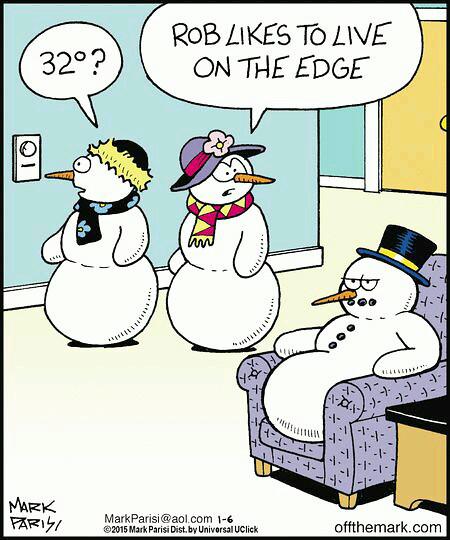 Snowman Humor Daily Misa Perko Flickr