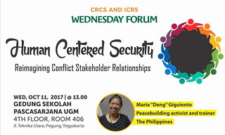 Human Centered Security (Reimagining Conflict Stakeholder Relationships)