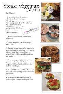 Steaks végétaux en avocat toasts | by pinkcappuccino
