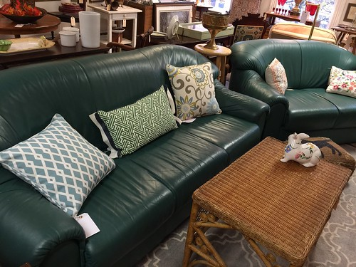2 Green Couches $850 | by Ellaway's Attic