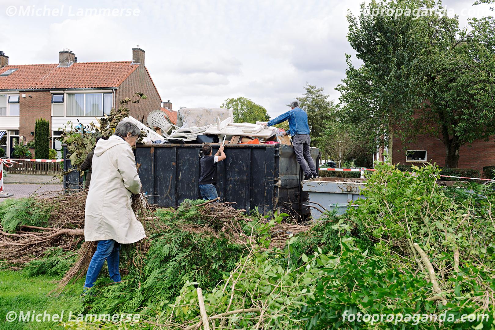 Tuin-opknapactie Kruidenbuurt