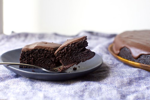 chocolate olive oil cake | by smitten kitchen