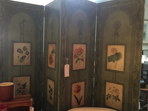 4 Panel painted screen $350 | by Ellaway's Attic