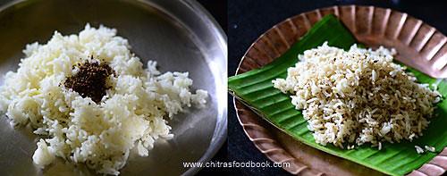 Pepper cumin rice/ Milagu jeeraga sadam