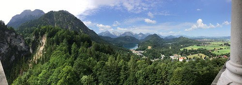 Alpsee from Neuschwanstein | by andy.freed