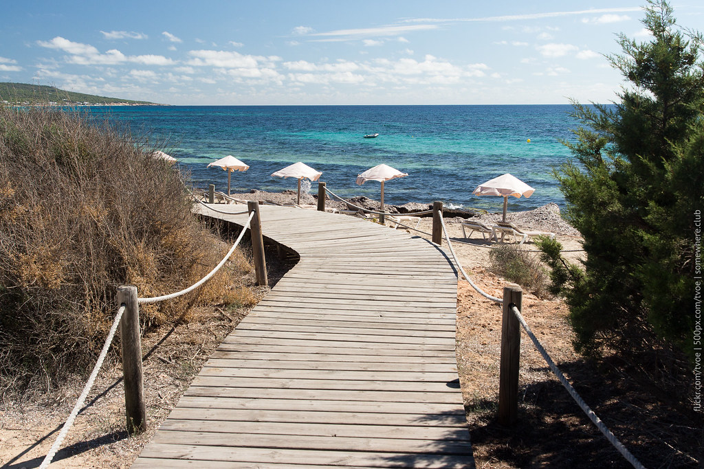 Пляж на Форментере