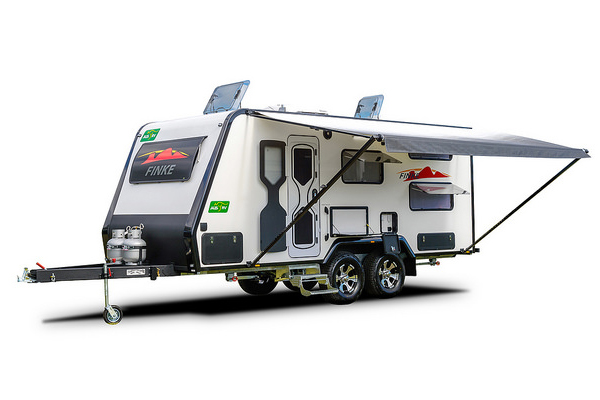 Finke 19-01-AT Front Door All Terrain Caravan