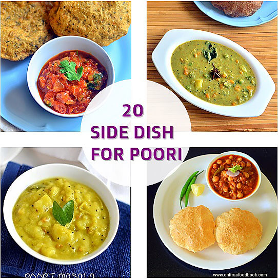 Side dish for poori