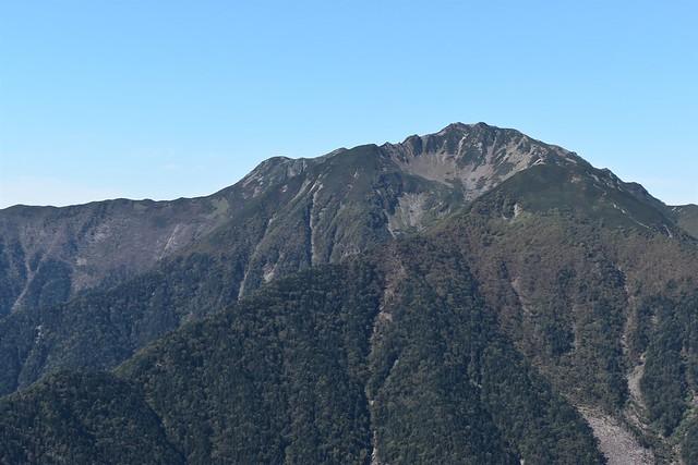 南アルプス・仙丈ヶ岳