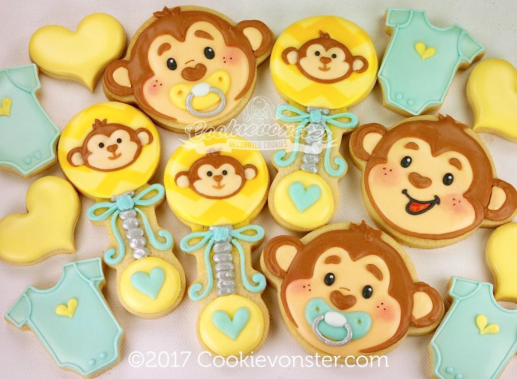 Lil Monkey Baby Shower Cookievonster Flickr