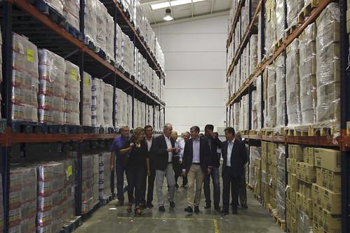 Noticias de ag imes fernando clavijo visita la sede del banco de alimentos de las palmas en el - Banco de alimentos de las palmas ...