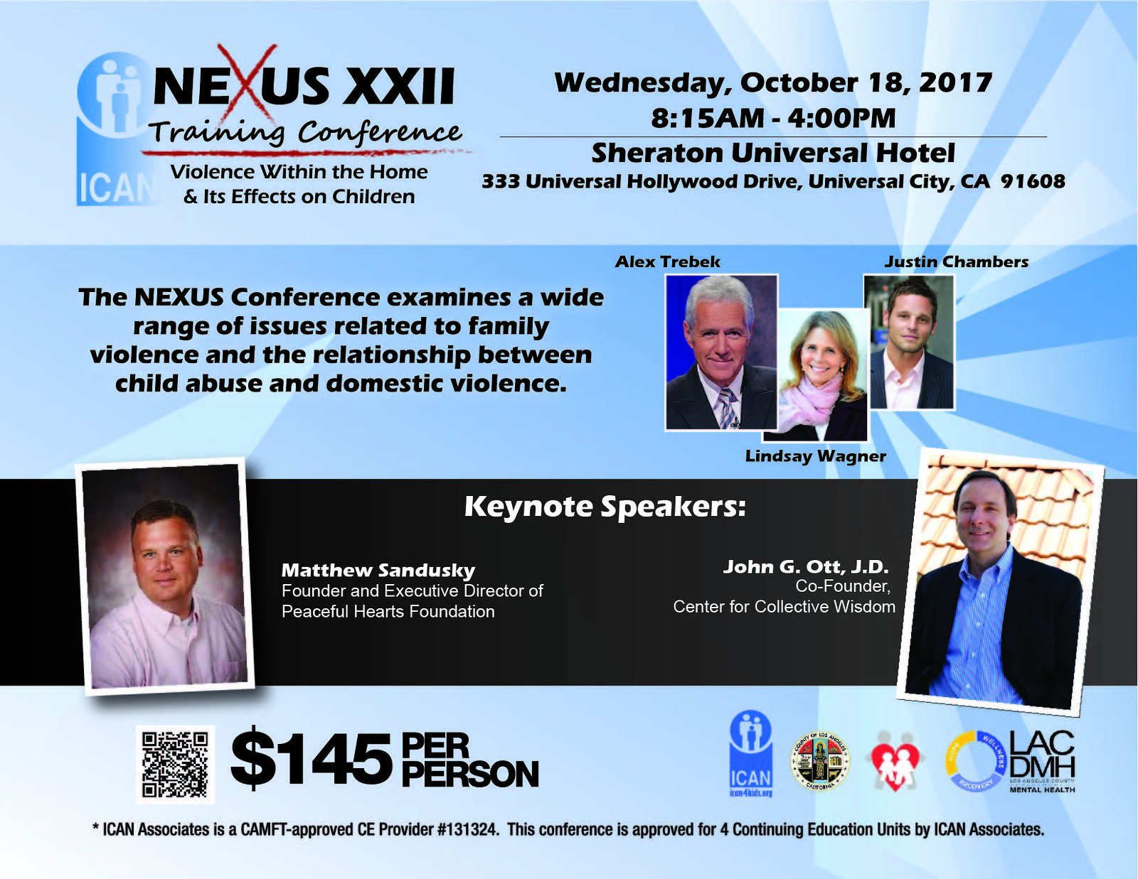 Justin Chambers Online » Justin to Appear at the Nexus XXII Training ...