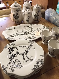 Farm Dishes $85 | by Ellaway's Attic