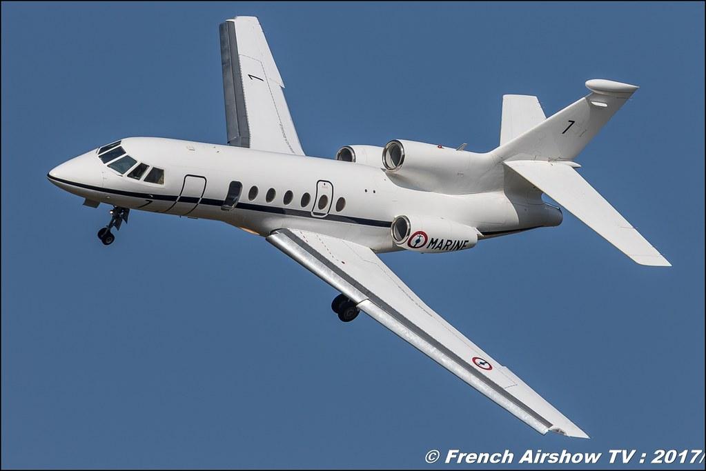 Falcon 50M Dassault Falcon 50 Marine Nationale , Avignon Air Show 2017 , Aéroclub Vauclusien , avignonairshow2017 , Meeting Aerien 2017