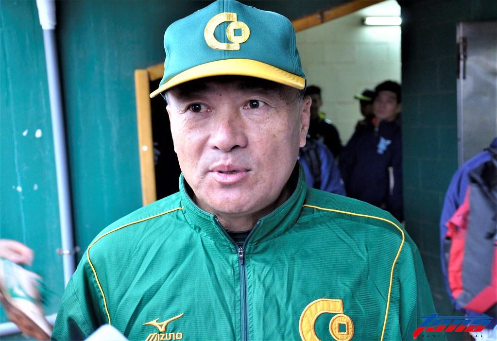 合庫總教練許順益接下亞運總教練一職。(張哲郢/攝)