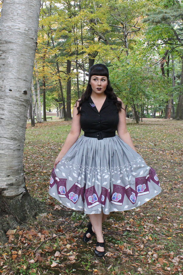 beetlejuice skirt handbook for the recently deceased