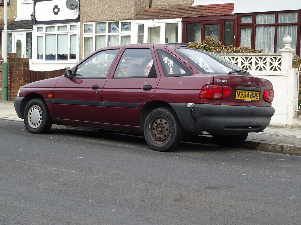 1995 ford escort 1 4lx by neils classics