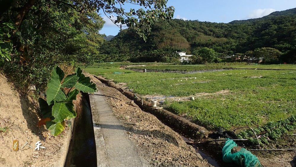 取水灌溉的需求考驗著旱季溪流的承載力。圖片來源:人禾基金會。