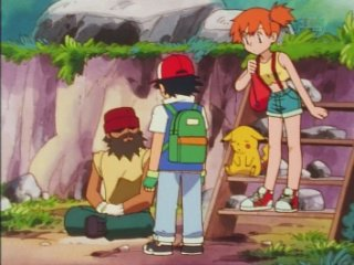 flint sells rocks to ash and misty