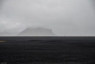 Nowhere... / Black Sand Field - Iceland | by Toine B.