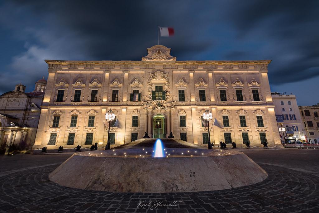 Auberge De Castille - Valletta, MALTA