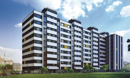 Проект первого дома ЖК Витязь