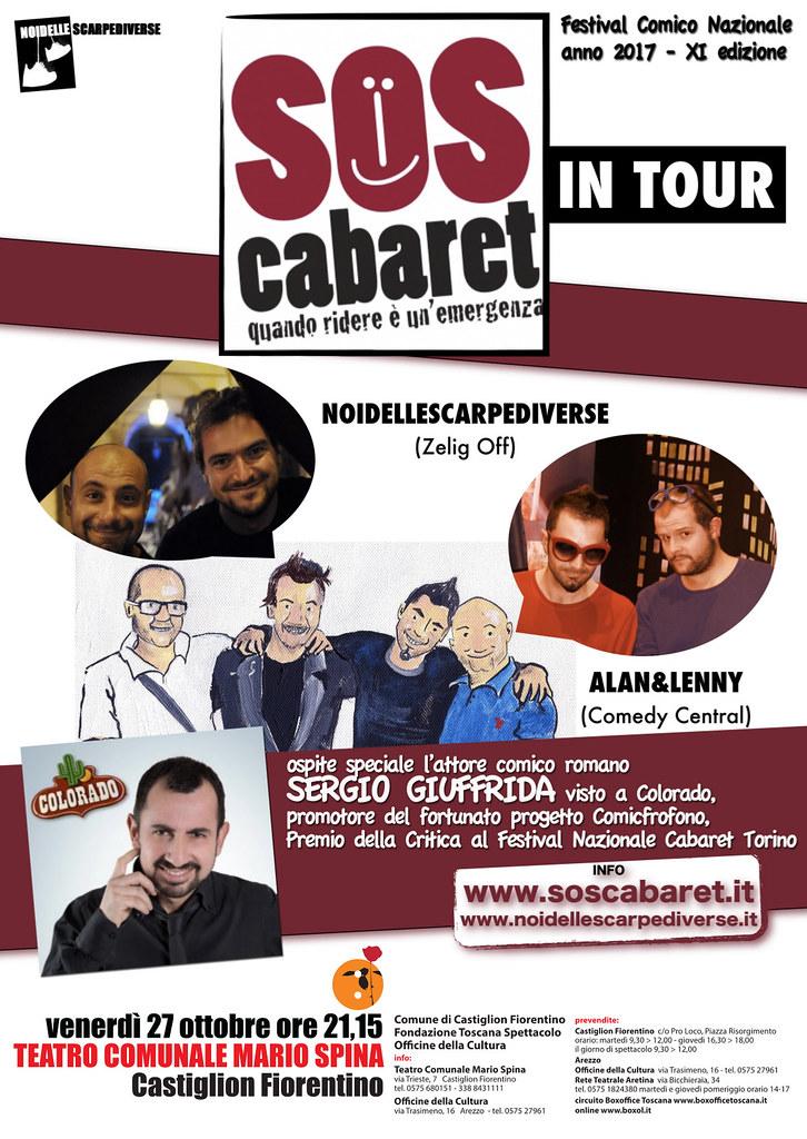 SOS Cabaret in tour