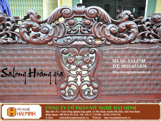 SAL5705d Salong Hoang gia  do go mynghehaiminh