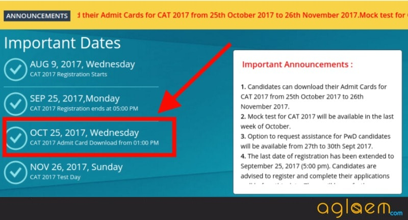 CAT 2017: Download the admit cards today