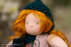 Portia - 9.5 inches Waldorf doll by Down Under Waldorfs