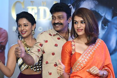 Garudavega Movie Successmeet Stills