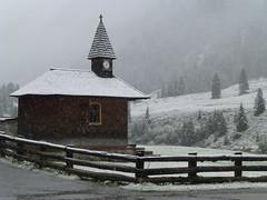 Früher Wintereinbruch am Krimmler Tauernhaus