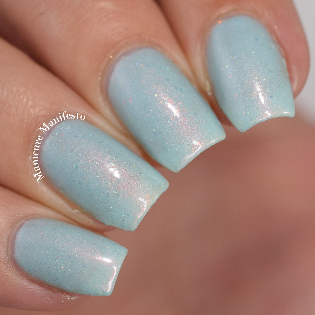 Femme fatale Cosmetics Paper Clouds swatch