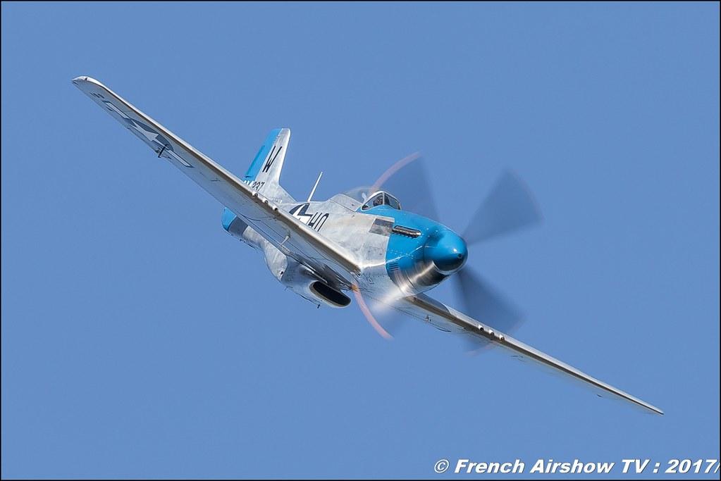 P-51 Mustang - F-AZXS , Fred Akary , P-51D Mustang Moonbeam McSwine , Avignon Air Show 2017 , Aéroclub Vauclusien , avignonairshow2017 , Meeting Aerien 2017