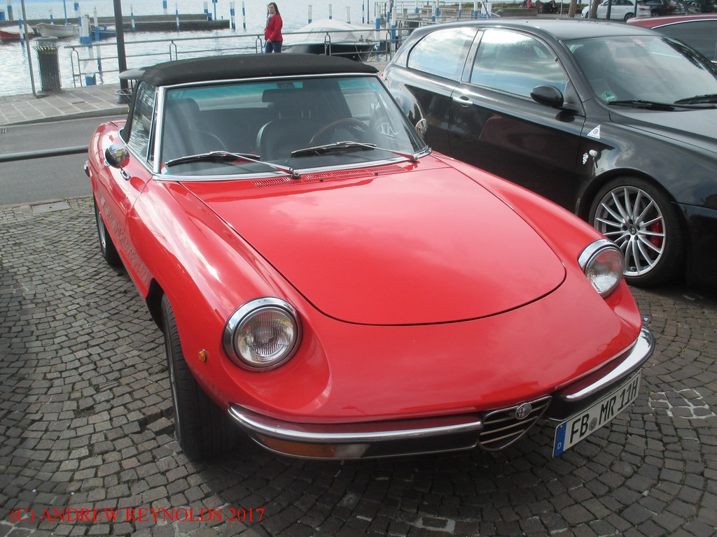 2017051902 Alfa Romeo 2000 Spider 3rd Series 1982 1989 In Flickr Iseo Italy 1