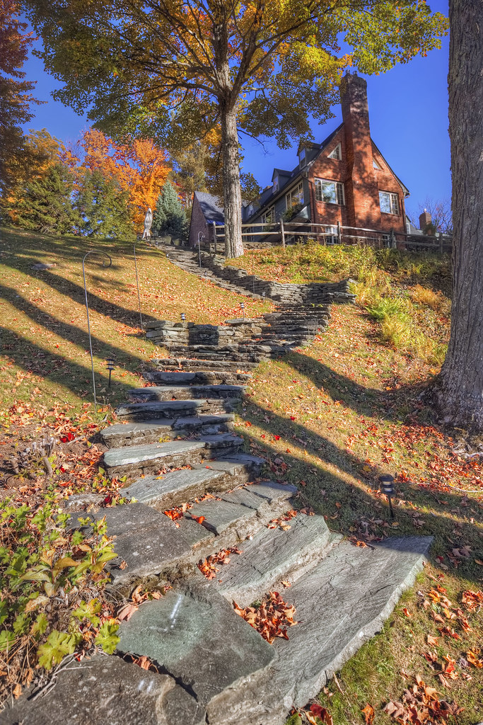 ... Edson Hill Stone Stairs | By Don Ritt Photography