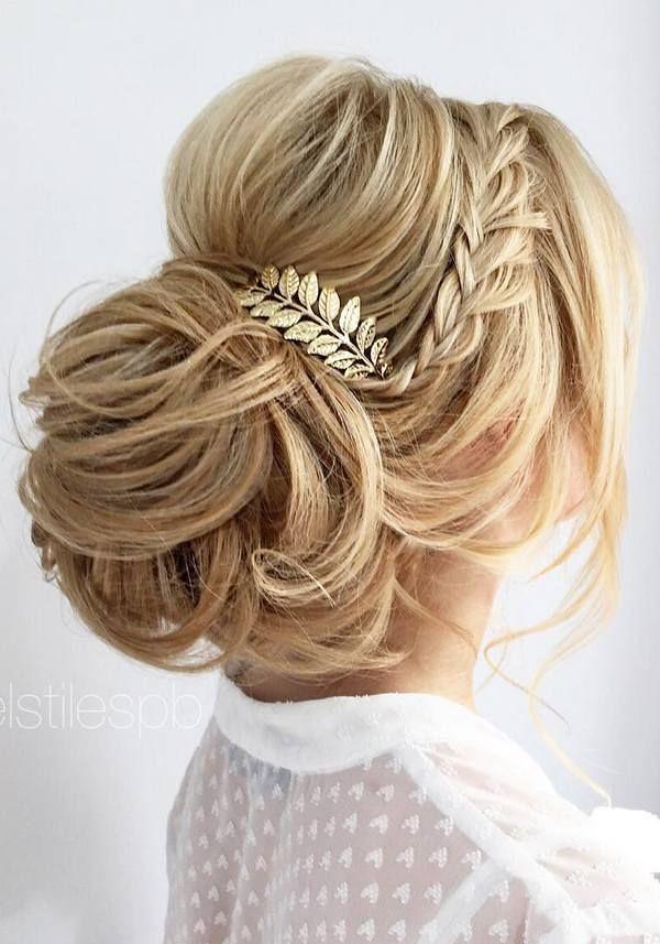 Wedding Hairstyles Half Updo Braids Chongos Updo Weddi Flickr