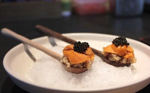 Robin SF - Hokkaido uni with Sturgeon caviar