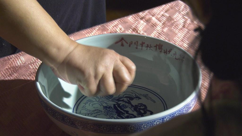 927-1-07金門將每年中秋的博餅傳統視為文化活動、地方節慶,邀請遊客同歡共樂。