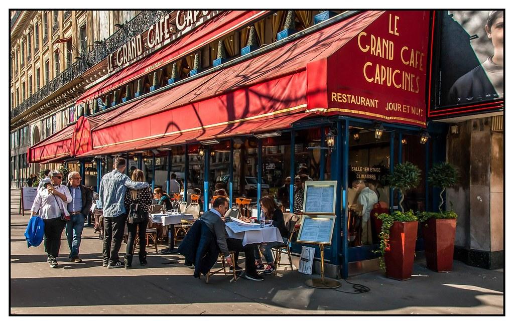 Le Grand Caf Ef Bf Bd Capucine Paris
