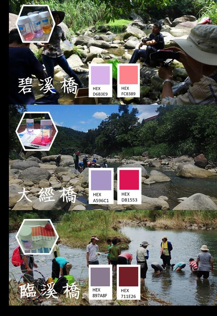 6_從清新可人的丁香紫到濃妝豔抹的波爾多紅,溪流的狀態一如色階展現的隱喻(圖片來源:人禾)