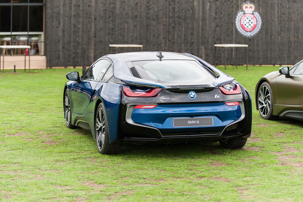 Bmw I8 Myth Edition Avusblau Engine 1 499 Cc 3 Cylinder Flickr