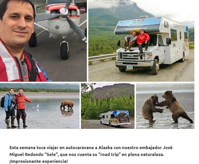 Entrevista en Paralelo 20 para hablar de Alaska