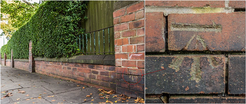 CUT BENCH MARK- STREET LANE LS8 | by I.K.Brunel