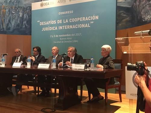 Secretario General de la OEA llama a fortalecer cooperación jurídica