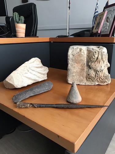 Ιωάννινα: Εντοπίστηκε ταξιδιωτικός σάκος με αρχαιολογικά αντικείμενα