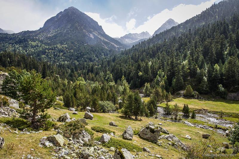 Vista del Planell del Sant Esperit y su entorno