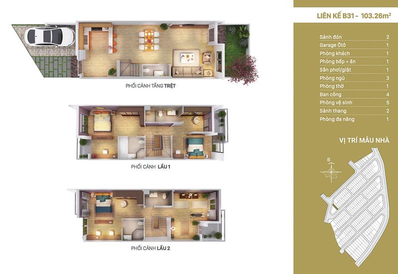 12 thiết kế mẫu nhà liên kế tại RioVista quận 9 20