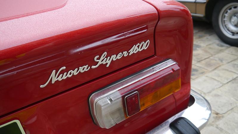 Alfa Romeo Giulia Super 1600 Nuova  23575737918_6d32226fb5_c