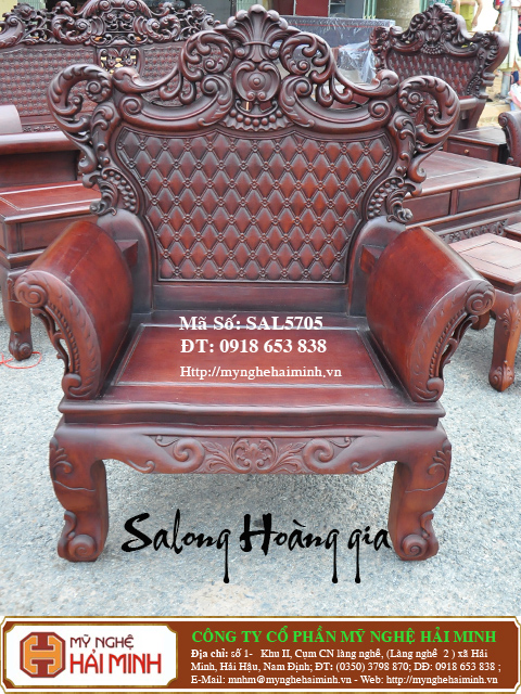 SAL5705i  Salong Hoang gia  do go mynghehaiminh